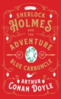 Image for Sherlock Holmes and the adventure of the blue carbuncle