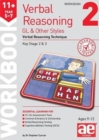 Image for 11+ Verbal Reasoning Year 5-7 GL & Other Styles Workbook 2 : Verbal Reasoning Technique