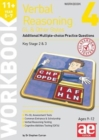 Image for 11+ Verbal Reasoning Year 5-7 GL & Other Styles Workbook 4 : Additional Multiple-choice Practice Questions