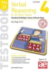 Image for 11+ Verbal Reasoning Year 5-7 GL & Other Styles Testbook 4 : Standard & Multiple-choice 6 Minute Tests
