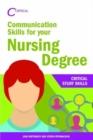 Image for Communication skills for your nursing degree