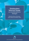 Image for Thinking About Behaviour Change : An Interdisciplinary Dialogue
