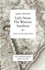 Image for Lady Susan - The Watsons - Sanditon
