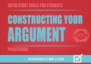 Image for Constructing Your Argument Pocketbook