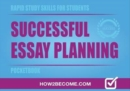 Image for Rapid study skills for students  : successful essay planning pocketbook