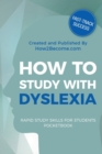 Image for How to study with dyslexia pocketbook