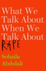 Image for What we talk about when we talk about rape