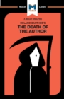 Image for Roland Barthes's The death of the author