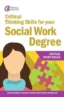Image for Critical thinking skills for your social work degree