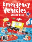 Image for Scribblers Fun Activity Emergency Vehicles Sticker Book