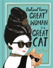 Image for Behind every great woman is a great cat