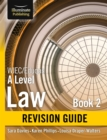Image for WJEC/Eduqas Law for A level Book 2 Revision Guide