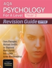 Image for AQA Psychology for A Level Year 2 Revision Guide: 2nd Edition