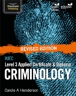 Image for WJEC Level 3 Applied Certificate & Diploma Criminology: Revised Edition