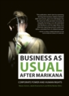 Image for Business as usual after Marikana : Corporate power and human rights