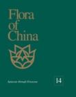 Image for Flora of China, Volume 14 - Apiaceae through Ericaceae