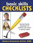 Image for Basic Skills Checklists : Teacher-Friendly Assessment for Students with Autism or Special Needs