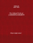 Image for The Collected Works of J.Krishnamurti  - Volume II 1934-1935 : What is Right Action?