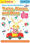 Image for Kumon Step-by-step Stickers: Trains, Planes, And More