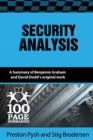 Image for Security Analysis : 100 Page Summary