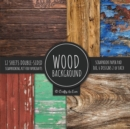 Image for Wood Background Scrapbook Paper Pad 8x8 Scrapbooking Kit for Papercrafts, Cardmaking, DIY Crafts, Rustic Texture Design, Multicolor