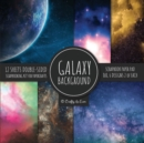 Image for Galaxy Background Scrapbook Paper Pad 8x8 Scrapbooking Kit for Papercrafts, Cardmaking, DIY Crafts, Space Pattern Design, Multicolor