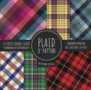 Image for Plaid O' Pattern Scrapbook Paper Pad 8x8 Scrapbooking Kit for Papercrafts, Cardmaking, DIY Crafts, Tartan Gingham Check Scottish Design, Multicolor