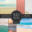 Image for Beach Photos Scrapbook Paper Pad 8x8 Scrapbooking Kit for Papercrafts, Cardmaking, DIY Crafts, Summer Aesthetic Design, Multicolor