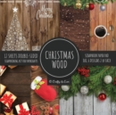 Image for Christmas Wood Scrapbook Paper Pad 8x8 Scrapbooking Kit for Papercrafts, Cardmaking, Printmaking, DIY Crafts, Holiday Themed, Designs, Borders, Backgrounds, Patterns