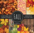 Image for Fall Scrapbook Paper Pad 8x8 Scrapbooking Kit for Papercrafts, Cardmaking, Printmaking, DIY Crafts, Nature Themed, Designs, Borders, Backgrounds, Patterns