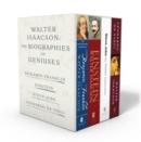 Image for Walter Isaacson: The Genius Biographies : Benjamin Franklin, Einstein, Steve Jobs, and Leonardo da Vinci
