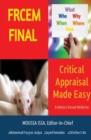 "Image for FRCEM FINAL : CRITICAL APPRAISAL ""Made Easy"""