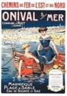 Image for Carnet Blanc, Affiche Chemins de Fer Onival-Sur-Mer