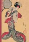 Image for Carnet Blanc, Estampe Femme � l'�ventail, Japon 19e