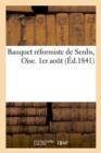 Image for Banquet Reformiste de Senlis, Oise. 1er Aout