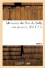 Image for Memoires Du Duc de Sully Tome 3