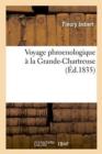 Image for Voyage Phroenologique � La Grande-Chartreuse