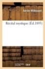 Image for R�cital Mystique