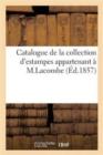 Image for Catalogue de la Collection d'Estampes Appartenant   M. L. C Lacombe