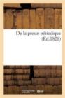 Image for de la Presse P�riodique