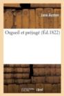 Image for Orgueil et prejuge  Fac-Simile Ed. 1822