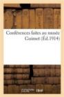 Image for Conf�rences Faites Au Mus�e Guimet