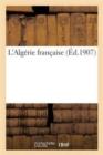 Image for L'Algerie Francaise