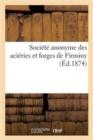 Image for Societe anonyme des acieries et forges de Firminy