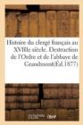 Image for Page de l'Histoire Du Clerg� Fran�ais Au Xviiie Si�cle