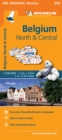 Image for Belgium North & Central - Michelin Regional Map 533 : Map