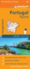Image for Portugal Norte - Michelin Regional Map 591 : Map