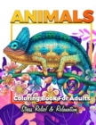 Image for Animals Adult Coloring Book : Detailed Drawings for Adults; Fun Creative Arts & Craft Activity, Zendoodle, Relaxing ... Mindfulness, Relaxation & Stress Relief
