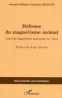 Image for Defense du magnetisme animal.