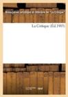 Image for La Critique (Ed.1903)